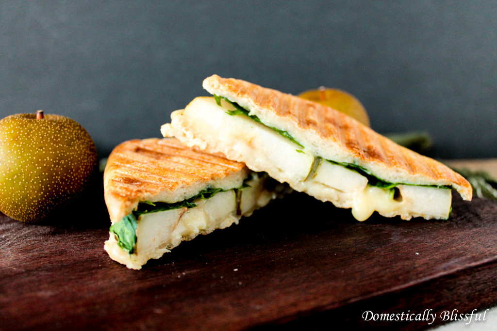 Gorgonzola and Pear Panini