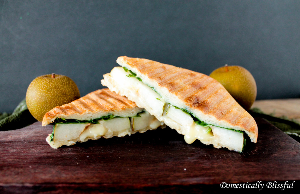 Pear and Gorgonzola Panini