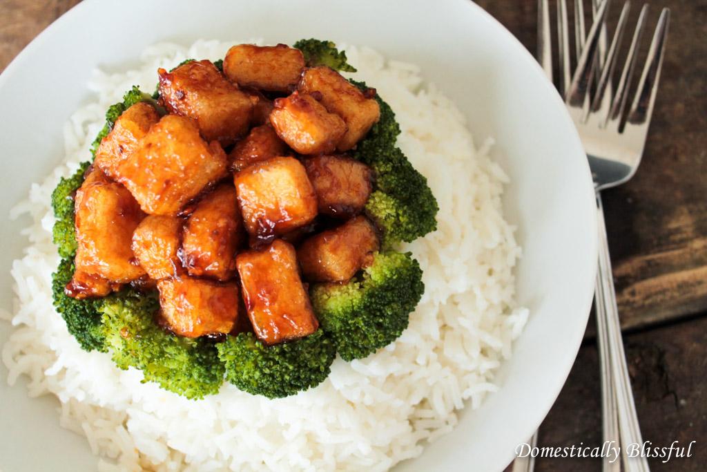 Crispy Cornstarch Tofu