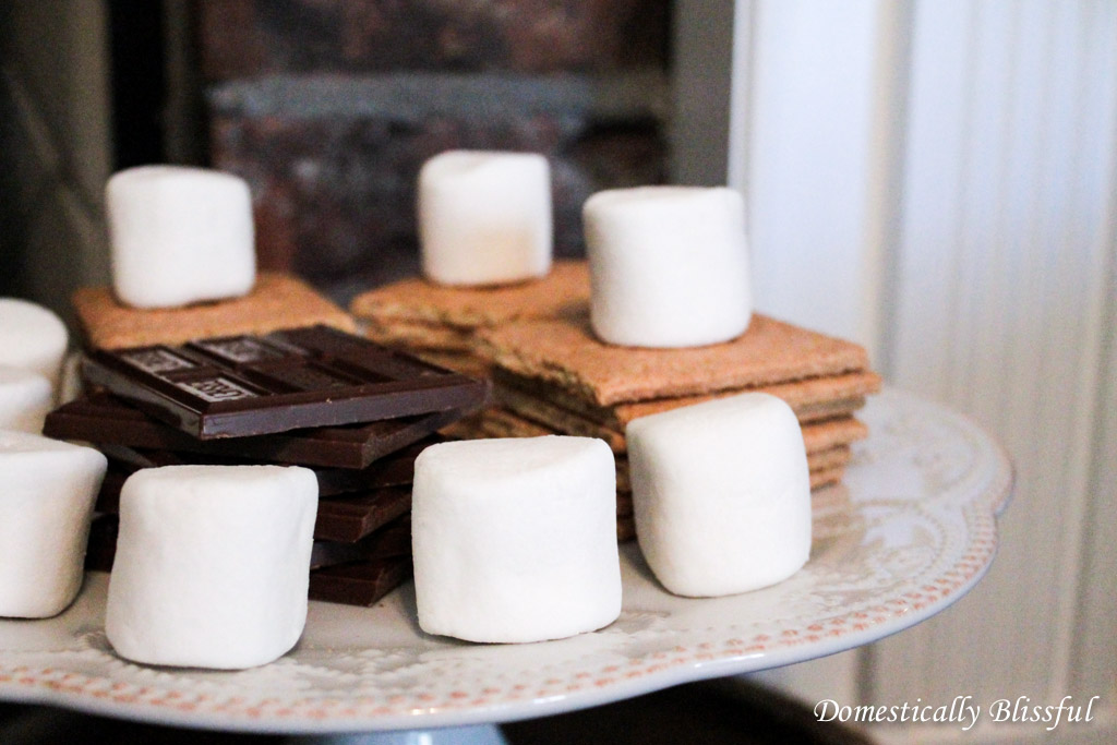 Fireplace S'mores