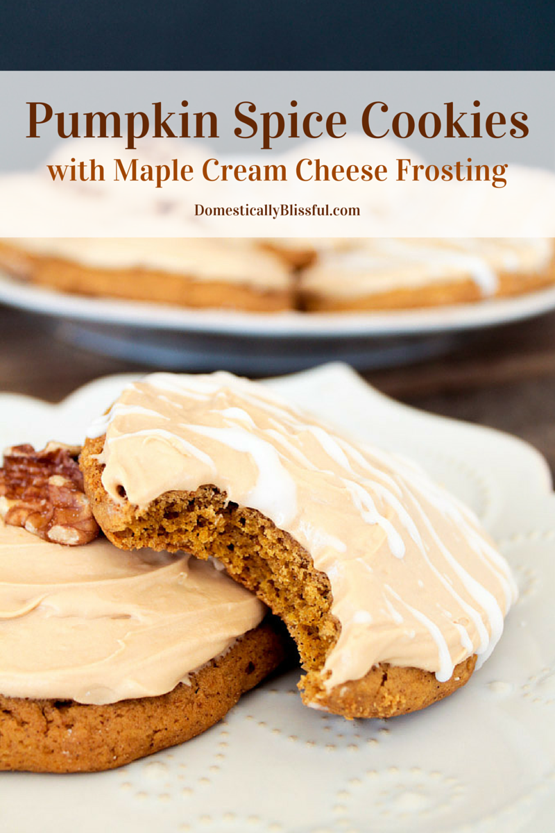 Maple Cream Cheese Frosting pumpkin-spice-cookies-with-maple-cream-cheese-frosting