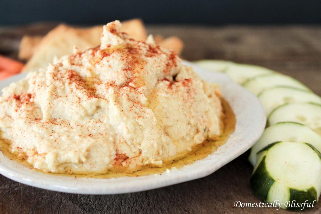 Roasted Garlic Hummus_