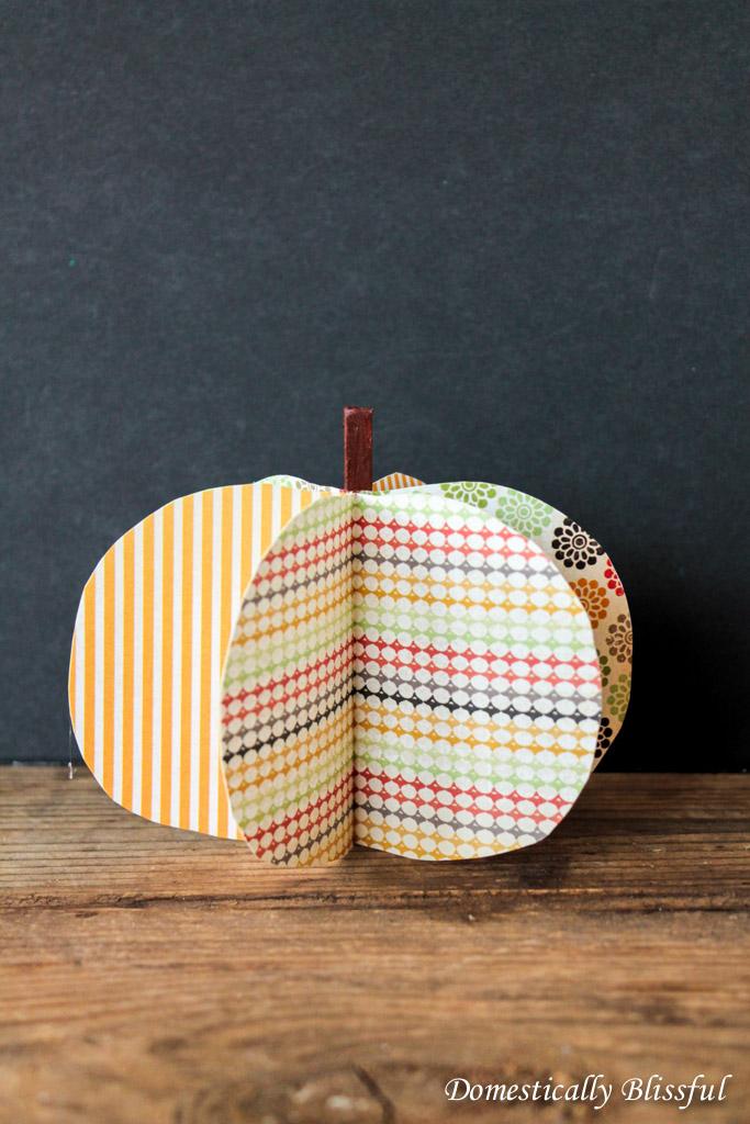 3d Pumpkins DIY