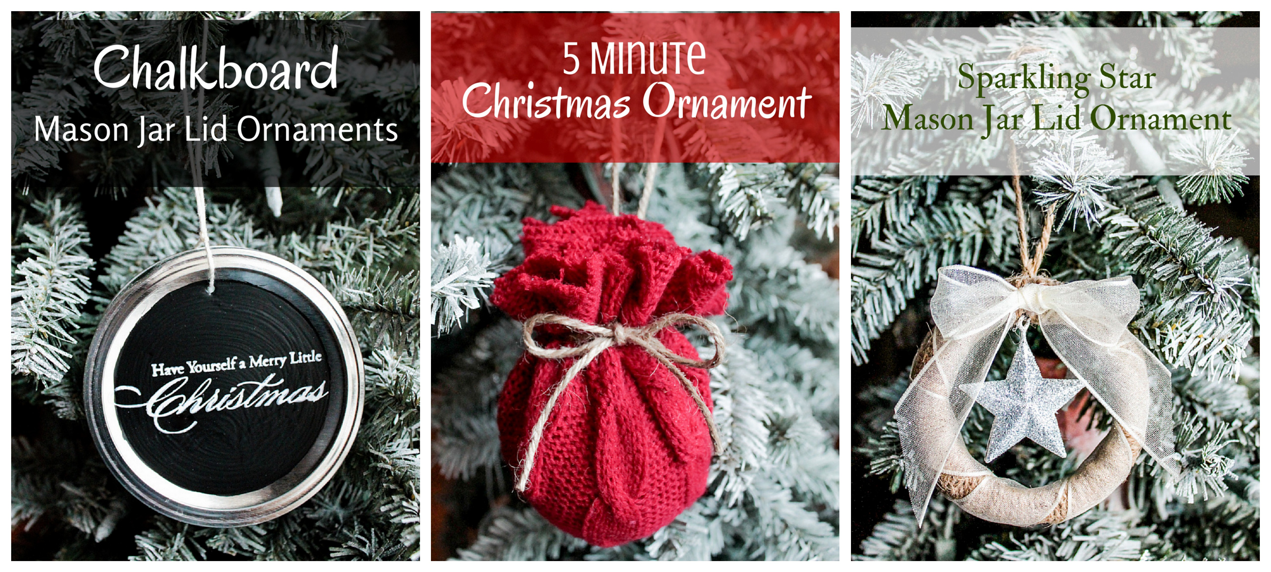 3 New Ornaments
