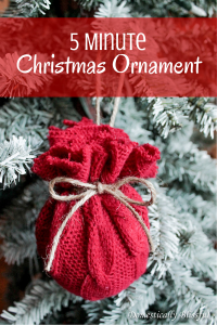 5 Minute Christmas Ornament