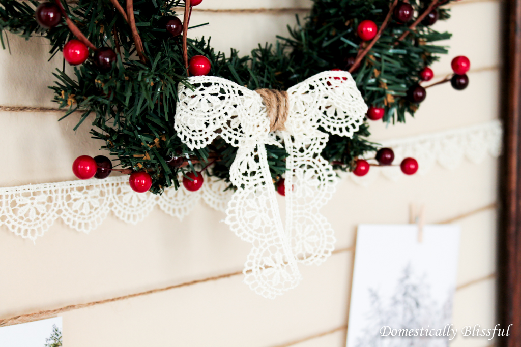 Bow on Wreath
