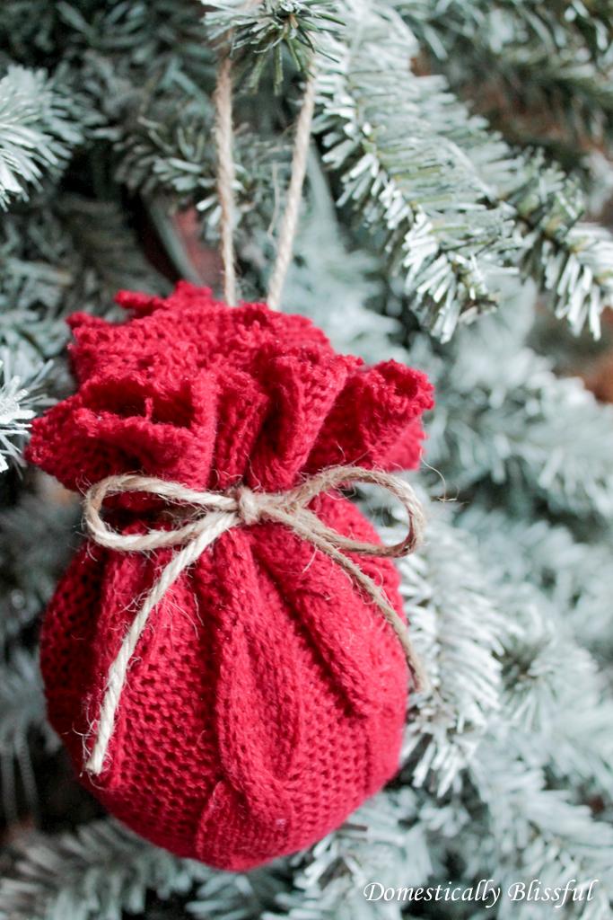 DIY Sweater Ornament