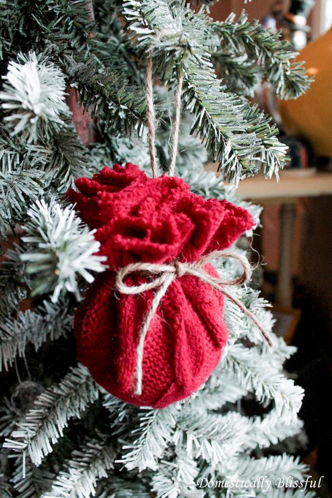 Santas Bag Christmas Ornament