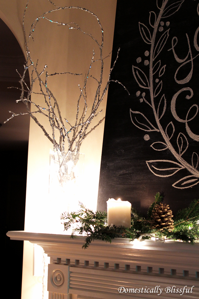Twinkle Lights & Sparkling Branches