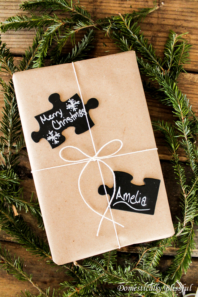 Chalkboard Christmas Tags