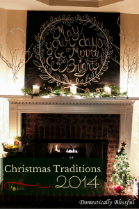 Christmas Traditions 2014