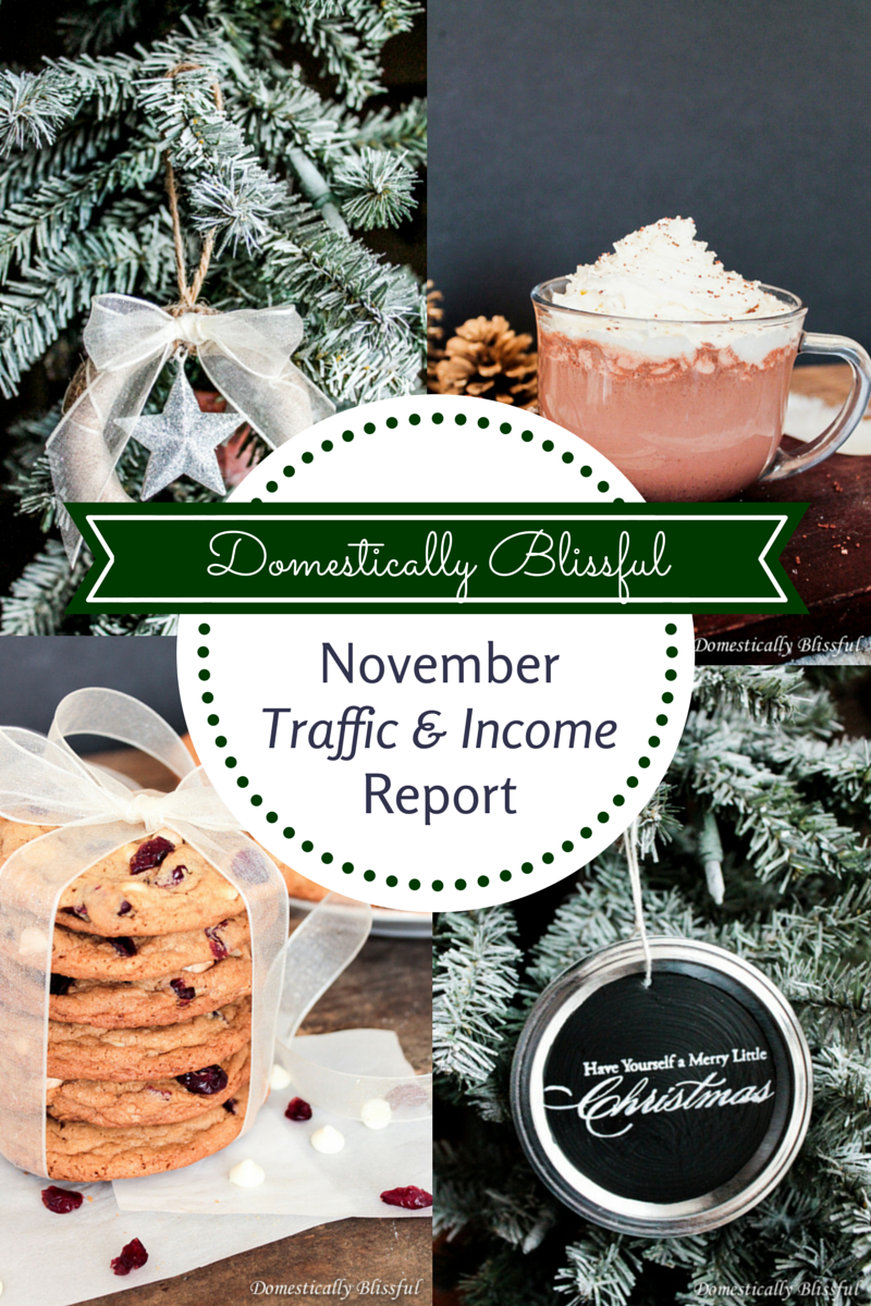 November Traffic & Income Report