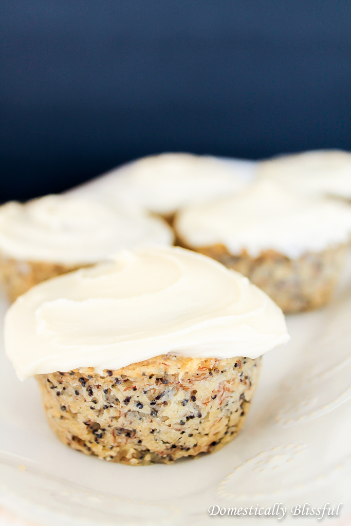 Banana Muffins with Poppy Seeds