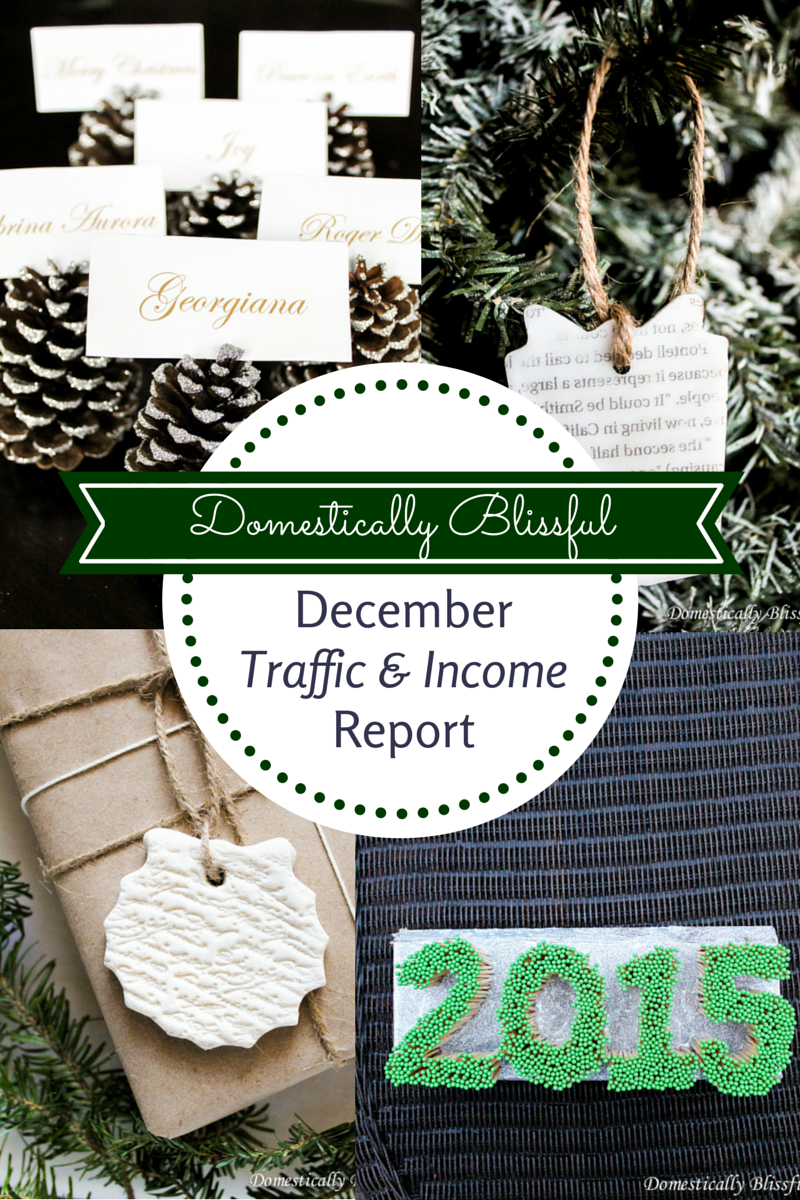 December Traffic & Income Report