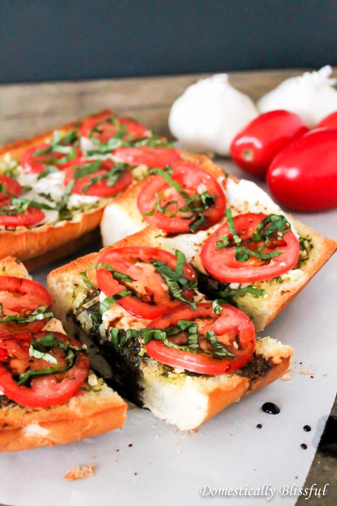 Garlic Bread Caprese