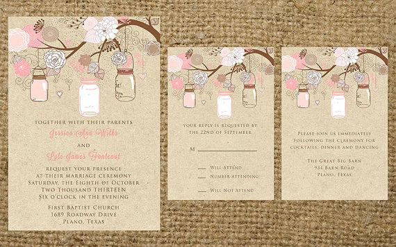 26 Stunning Spring Wedding Invitations