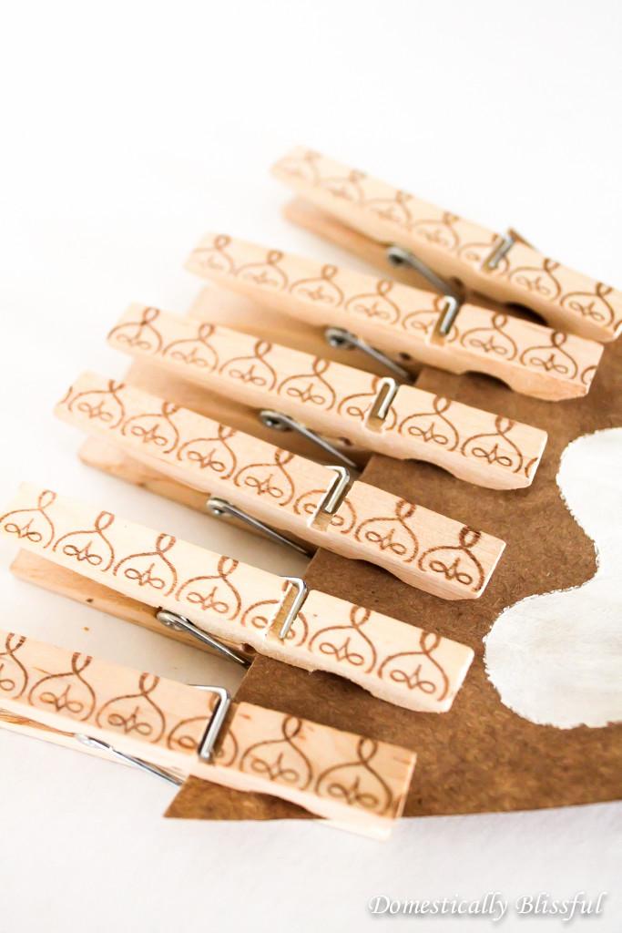 DIY Decorative Clothespins