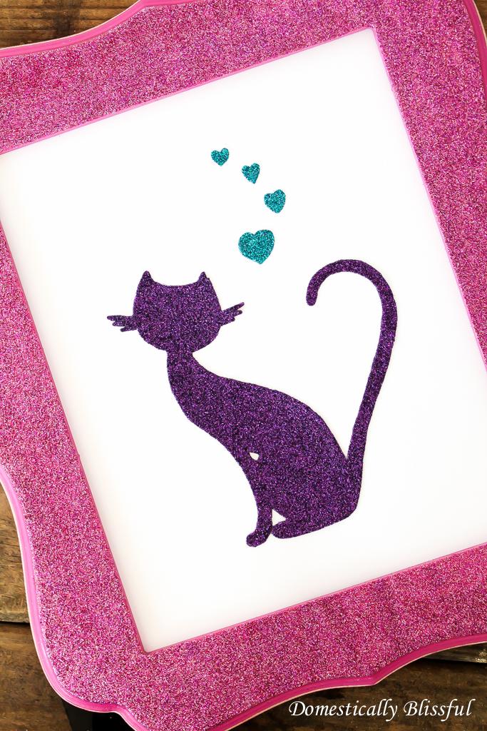 DIY Cat Silhouette Picture