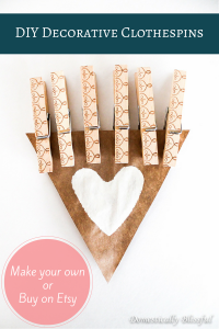 DIY Decorative Clothespins