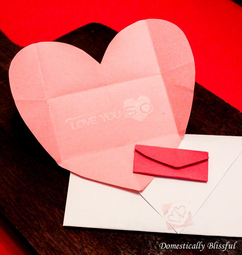 DIY Valentine's Envelope