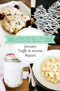 January Traffic & Income Report