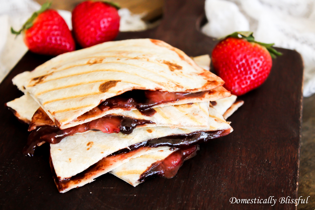 Nutella Quesadilla