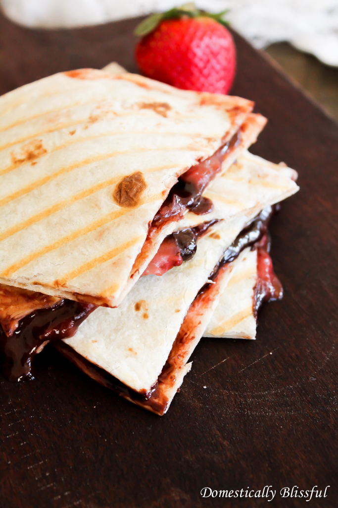 Strawberry Quesadilla