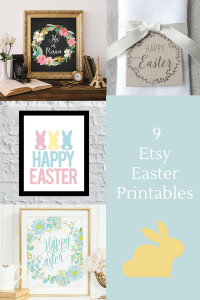 9 Etsy Easter Printables