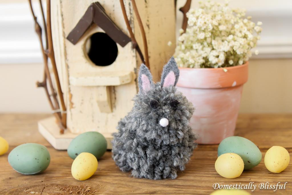 Baby Pom-Pom Easter Bunny