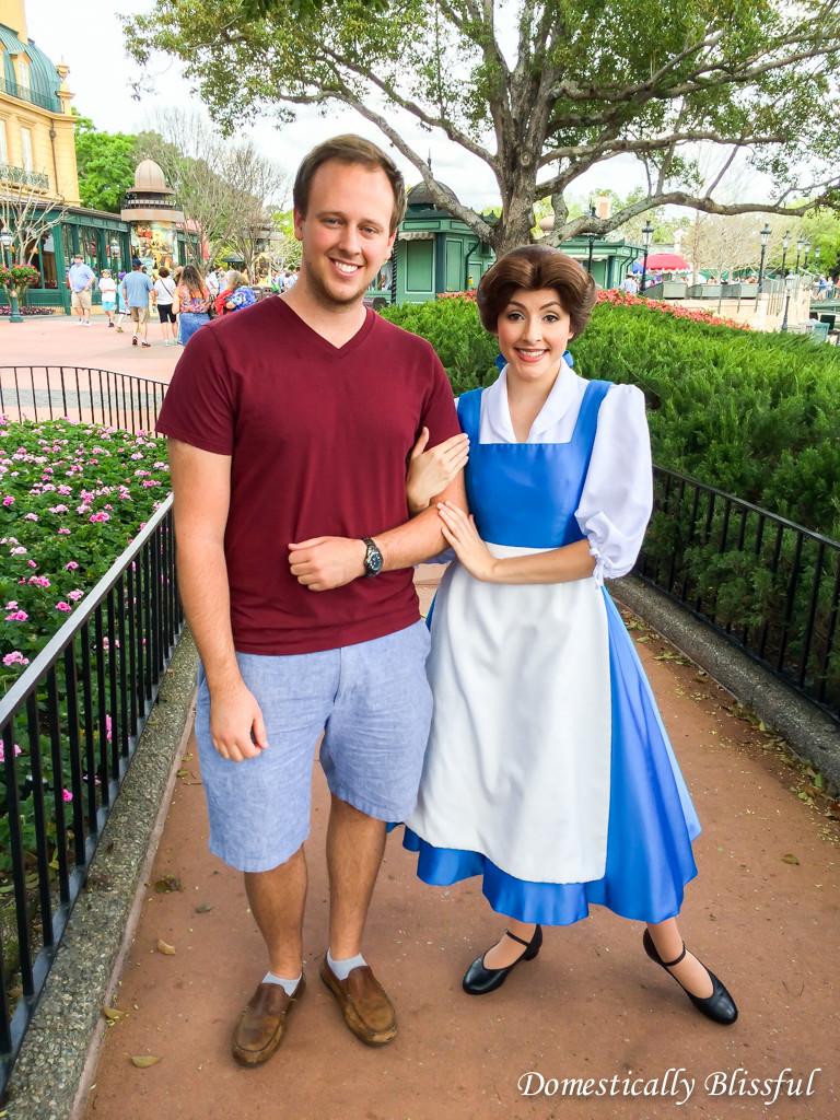 Meet Belle at Epcot