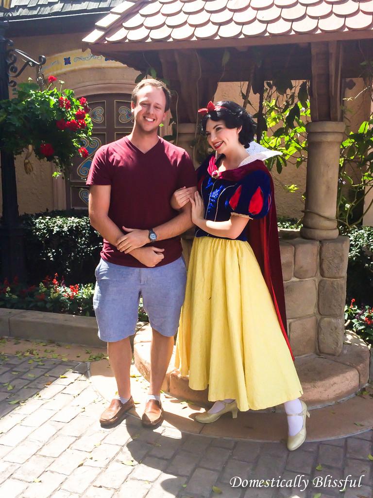 Meet Snow White at Epcot