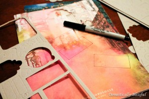 Stencils and Anthropologie Catalog