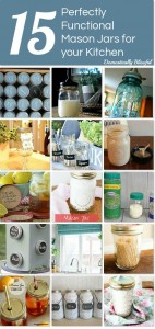 15 Perfectly Functional Mason Jars for Your Kitchen