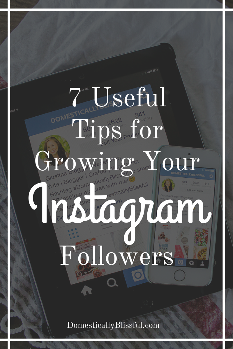 7 Useful Tips for Growing Your Instagram Followers