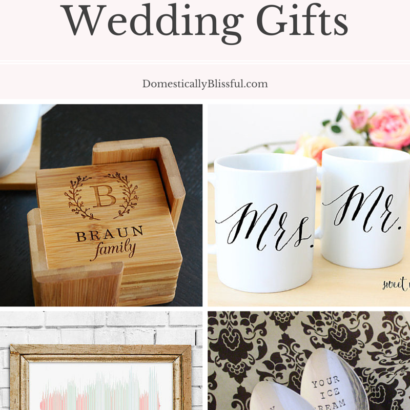 Unusual Wedding Gifts To Make : Unique Wedding Gifts