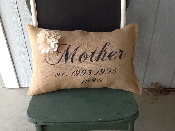 Mother's Day Gift Personalized Pillow