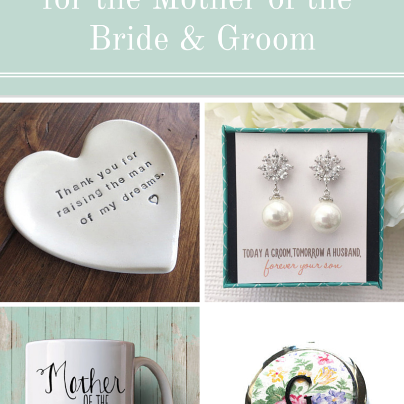 Bride To Groom Wedding Gifts: 10 Special Wedding Gifts For The Mother Of The Bride And Groom