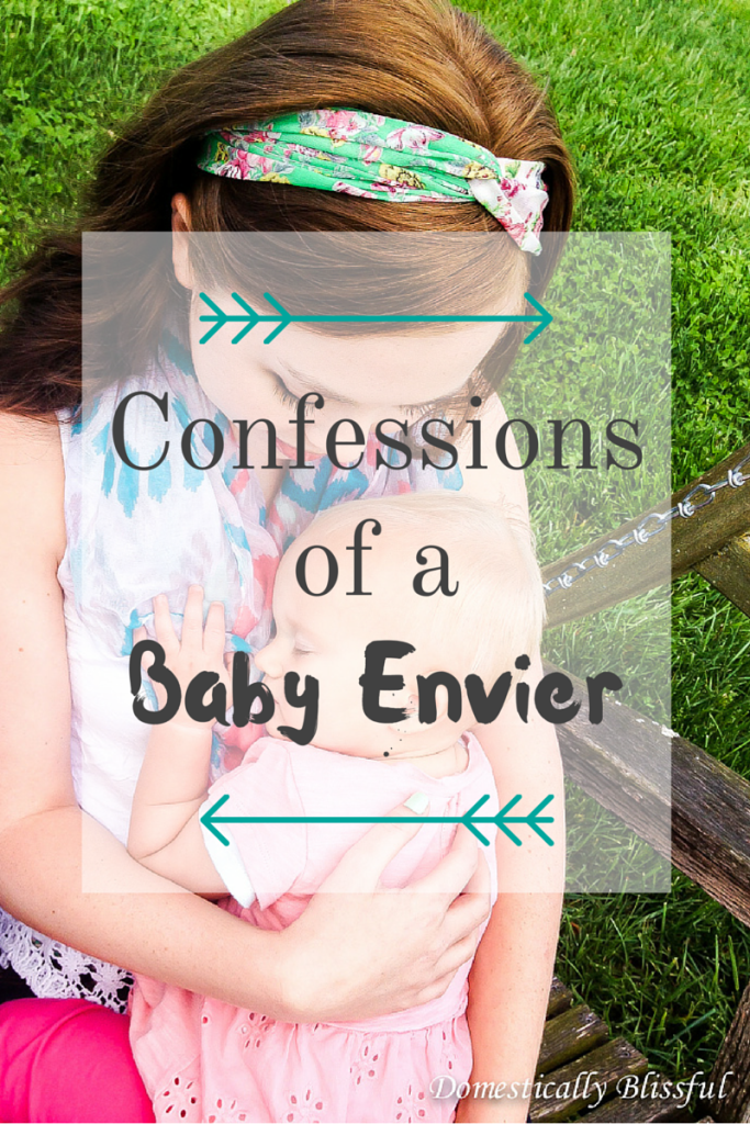 Confessions of a Baby Envier