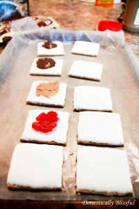 Frozen marshmallows