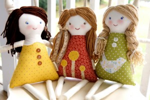 Handmade Custom Rag Dolls by The Busl Barn