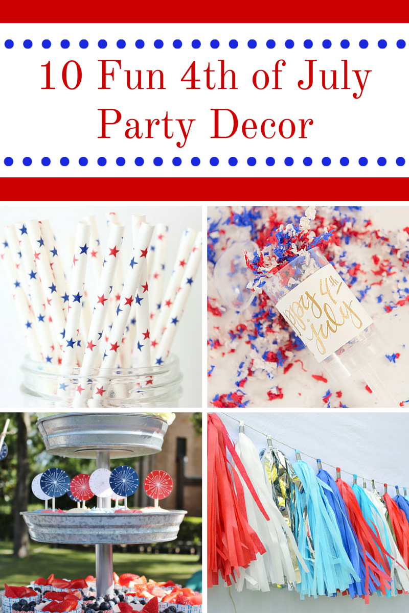 10 Fun 4th of July Party Decor