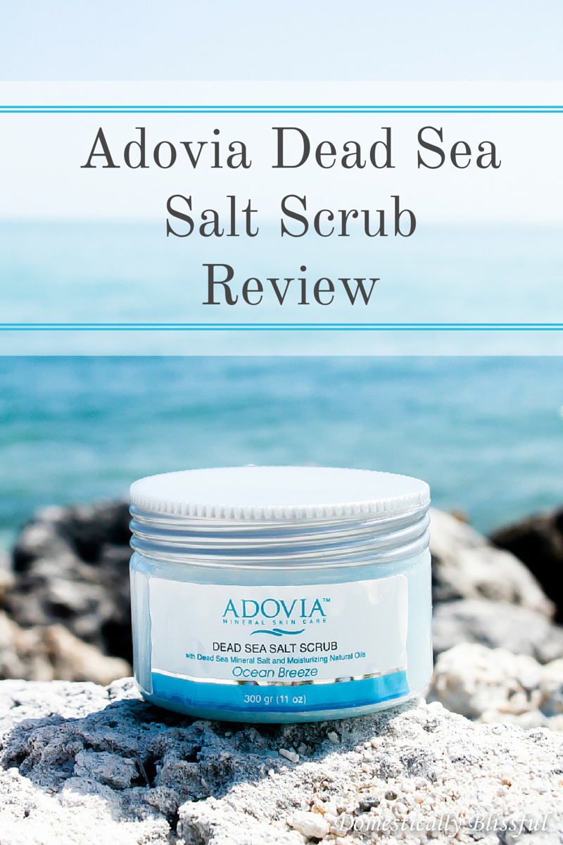 Adovia Dead Sea Salt Scrub Review