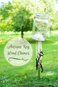 Antique Key Wind Chimes