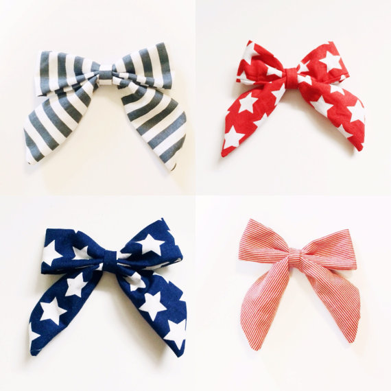 Large 4th of July Bow