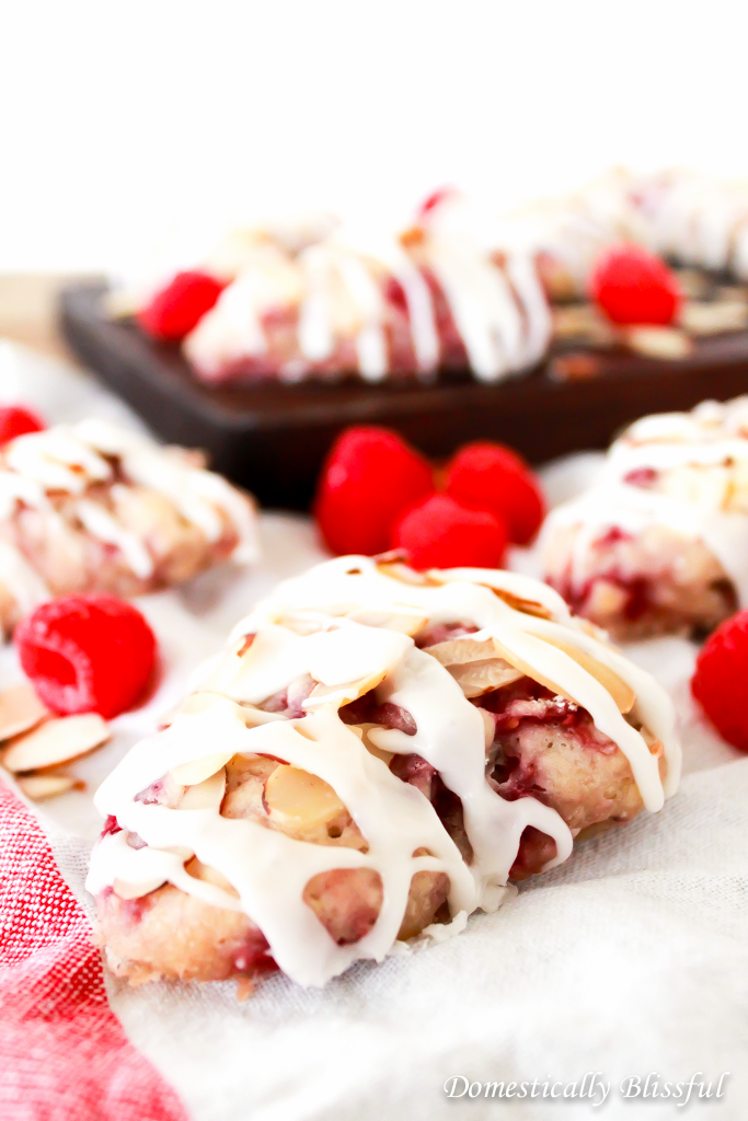 Raspberry Almond Scones