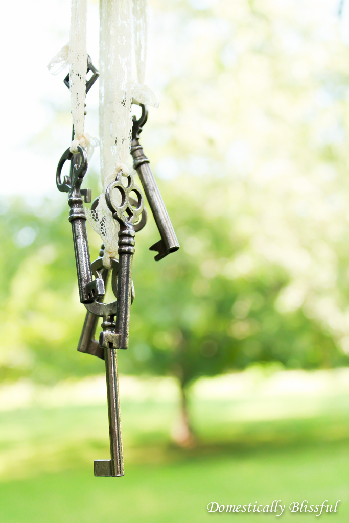 Repurposing Antique Keys