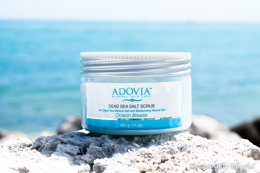 Review of Adovia Dead Sea Salt Scrub