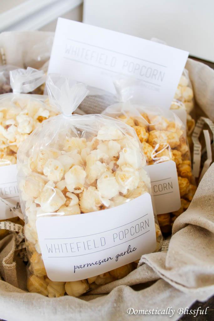 Gourmet Whitefield Popcorn