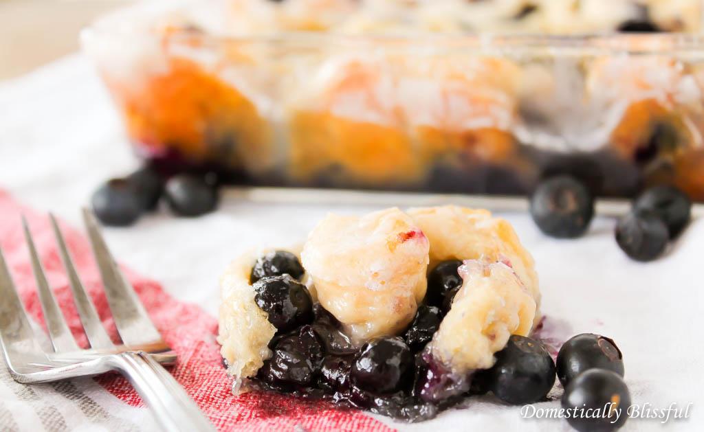 Quick Blueberry Sweet Rolls