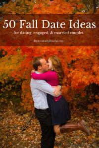 50 Fall Date Ideas